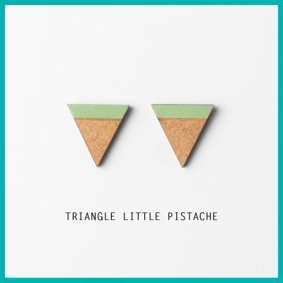 Earrings Little Triangle | Belgunique