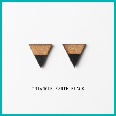Earrings Triangle Earth | Belgunique
