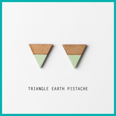 Oorbel Triangle Earth | Belgunique