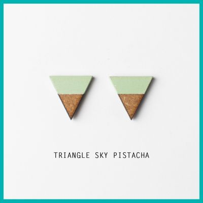 Oorbel Triangle Sky | Belgunique