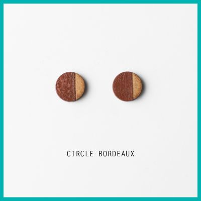 Earrings Circle  | Belgunique