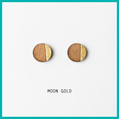 Earrings Moon | Belgunique