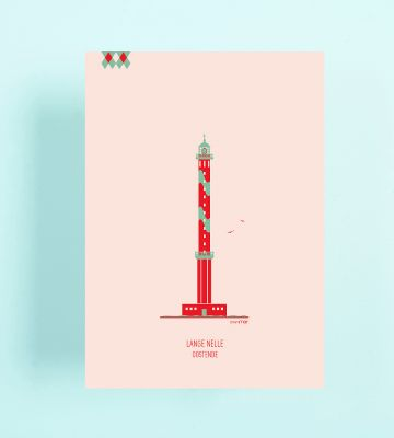 4 Postcards: Ostend | Belgunique