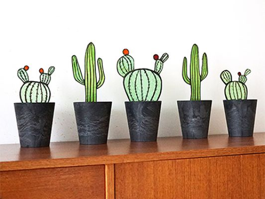 Glass Cacti | Belgunique