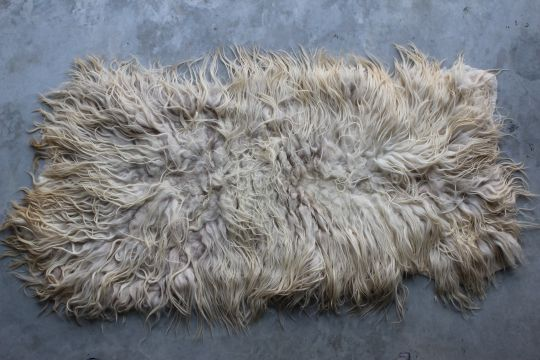 Fur Rug: Ivory | Belgunique