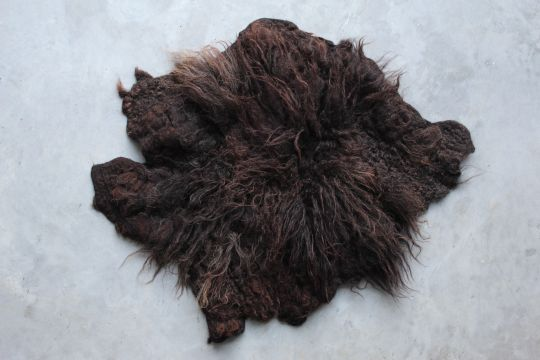 Fur Rug: Black | Belgunique