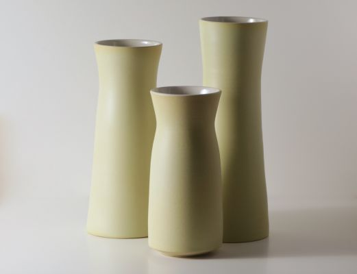 Yellow Vases Set | Belgunique