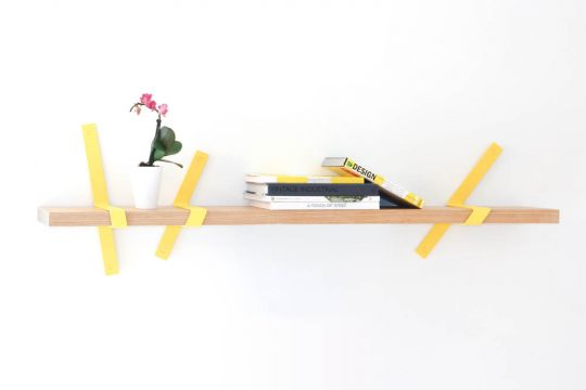 Straps Wall Shelf | Belgunique