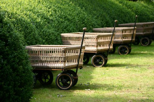 The Wicker Basket Wagon | Belgunique