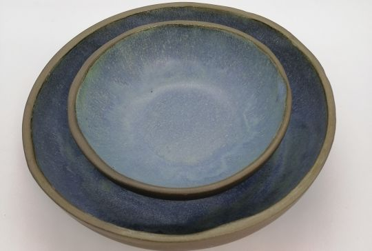 Bowl: Matte Blue | Belgunique