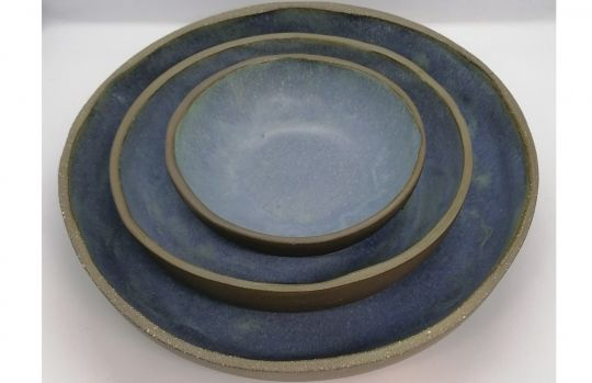Bowl: Mat Blauw | Belgunique