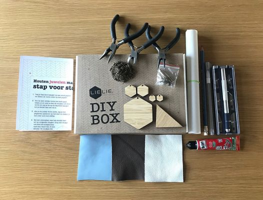 DIY Box: Houten Juwelen | Belgunique