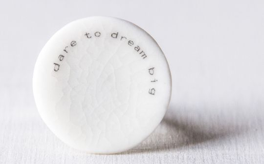Text-It Ring: Dare To Dream Big | Belgunique
