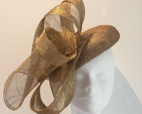 Fascinator d'or | Belgunique