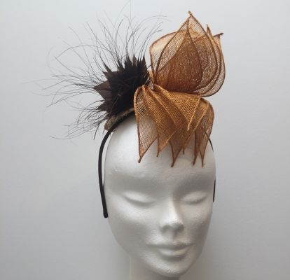 Fascinator Café au Lait | Belgunique
