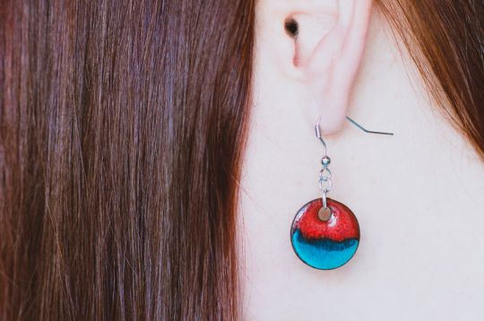 Ceramic Earrings | Belgunique