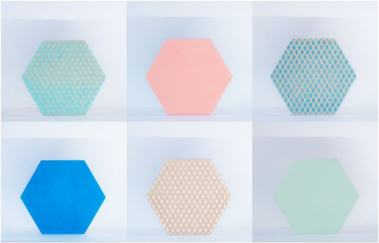 Wall Art: Hexagon | Belgunique