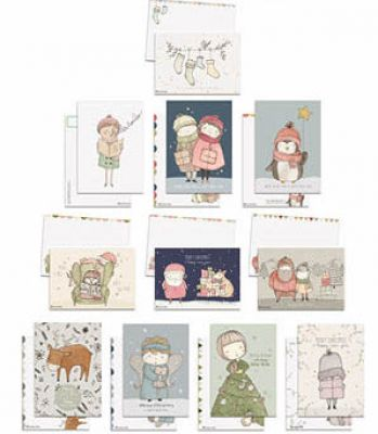 Xmas Box: 55 Cards | Belgunique