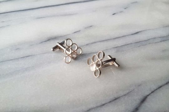 GEO Cufflinks: Triangle | Belgunique