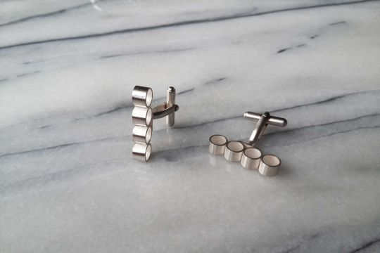 GEO Cufflinks: Rectangle | Belgunique