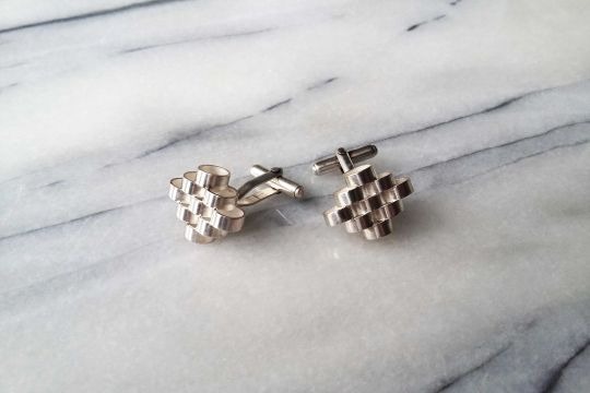GEO Cufflinks: Diamond | Belgunique