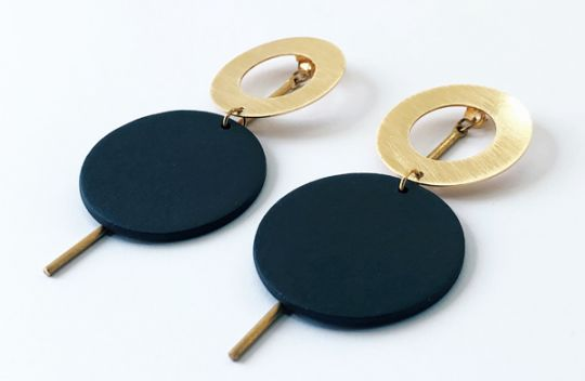Multiple3.0: Earrings Circle.XL | Belgunique