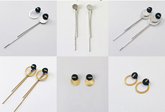 Multiple: 4-Part Earrings Set | Belgunique