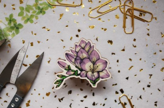Wooden Brooches | Belgunique