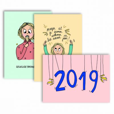 Set: 12 New Year Cards | Belgunique