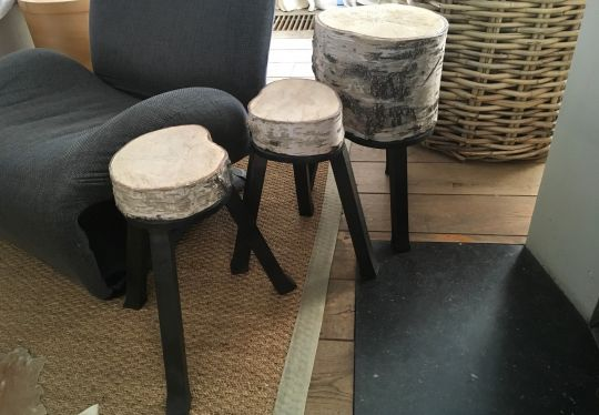 Stool: Black Birch | Belgunique