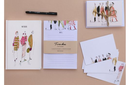 Stationery Set: Fashion | Belgunique