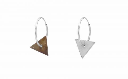 Earrings Triangle | Belgunique