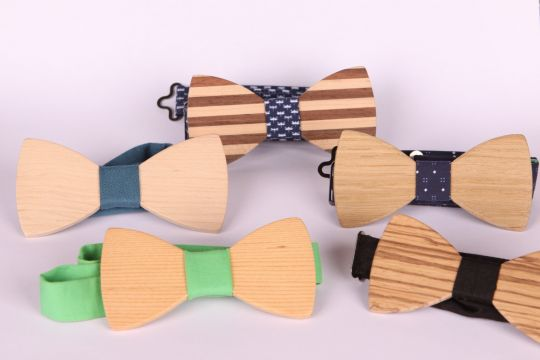Wooden Bow Tie | Belgunique