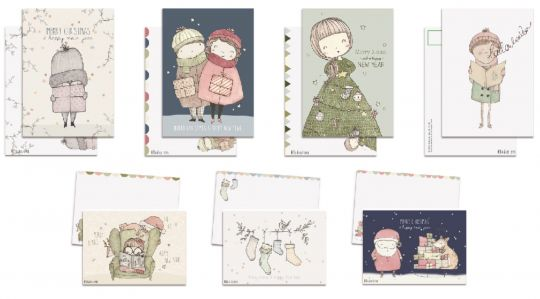 Xmas Box: 35 Cards | Belgunique