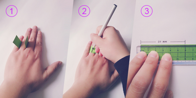 How to measure your finger for the perfect ring size  | Belgunique